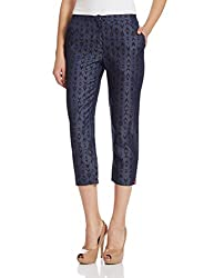 Biba Womens Parallel (DENIM11928_Blue_XL)