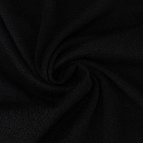 Ouneed® Sweat- Shirt Sweater Imprime Lettres Noir