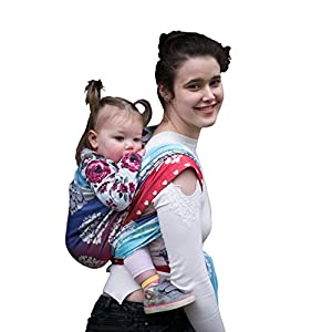 Joy and Joe Benevolence Allure Baby Woven Wrap Sling | Made in The UK | Boxed with Full Colour Instruction Booklet (XXL - 5.2m x 0.7m)   12