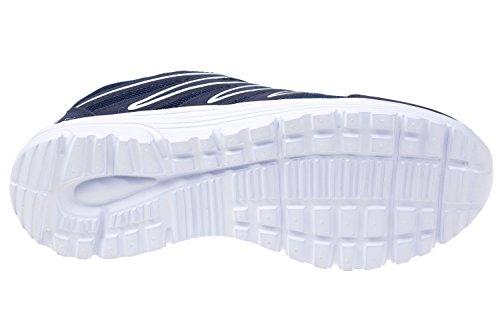 gibra , Baskets pour femme Bleu marine/blanc
