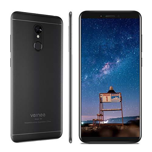 Vernee M6 - Smartphone Libre 4G, Pantalla HD Táctil 5.7 Pulgadas, 4GB RAM + 64GB ROM, Cámara Dual 16MP + 13MP,...