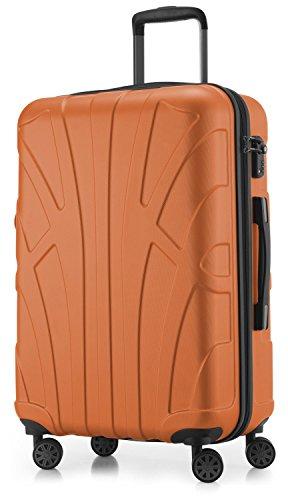 suitline-hartschalen-koffer-koffer-trolley-rollkoffer-reisekoffer-tsa-66-cm-ca-53-liter-100-abs-matt