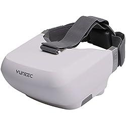 yuneec yuntyskl Skyview FPV gafas para Typhoon H y Tornardo H920(salida HDMI, puerto USB), color blanco