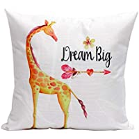 DIPOLA Funda de Almohada Sofá Cintura Throw Cushion Cover Decoración (Almohadas ...