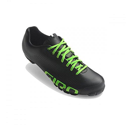 Giro Men's Empire VR90 MTB Cycling Shoes, Black/Lime, Size 43 43 EU