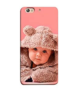 PrintVisa Designer Back Case Cover for Gionee Elife S7 (Kid Beautiful Happy Young Smile Sweet Fair)