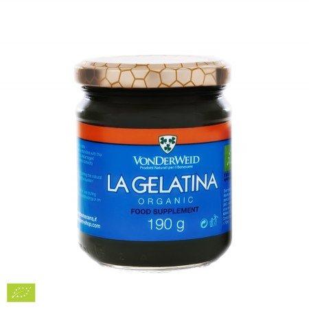 Vonderweid - La Gelatina, Integratore Alimentare Biologico con Aloe Arborescens e Vera, 190g