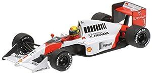 """Minichamps 540894301 """"1989 Mclaren Honda MP 4-5 - Ayrton Senna Kit de Modelo de plástico, Escala 1:43"""