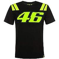 Valentino Rossi Vr46 Classic-Race, T-Shirt Hombre, Negro, XL