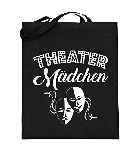Chorchester Theater Mädchen für Schauspiel Fans - Jutebeutel (mit langen Henkeln) (Klassiker Schule Mädchen Kostüm)