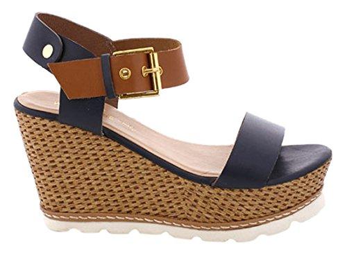Maria Abito Mare 66545 Cuero scarpe Donna marino Vachetta nSnpOxrw