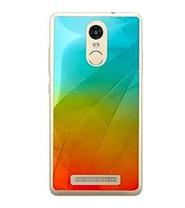 Colourful Fluidic Design 2D Hard Polycarbonate Designer Back Case Cover for Xiaomi Redmi Note 3 :: Xiaomi Redmi Note 3 Pro :: Xiaomi Redmi Note 3 MediaTek