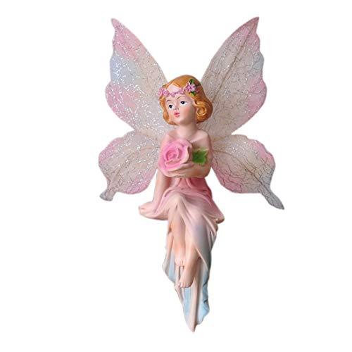Freundinnen Hochzeitsgeschenk Zuhause Schlafzimmer Dekoration eingerichtet Blume Fee Handwerk Ornamente europäischen Heimtextilien edlen Schmuck Dekorationen ( Style : Take a crocus flower fairy )