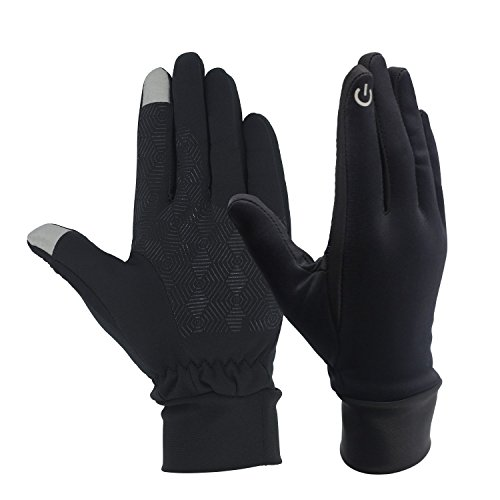 Great gloves, well made and the palm side has a honey comb effect textured grip. This is the gloves I bought for my husband,He loves this pair of gloves. Really good fit for his hands and keeps them protected from calluses and the cold &