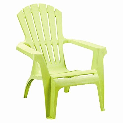 Adirondack Chair Stapelstuhl Gartenstuhl Kunststoff - Grün