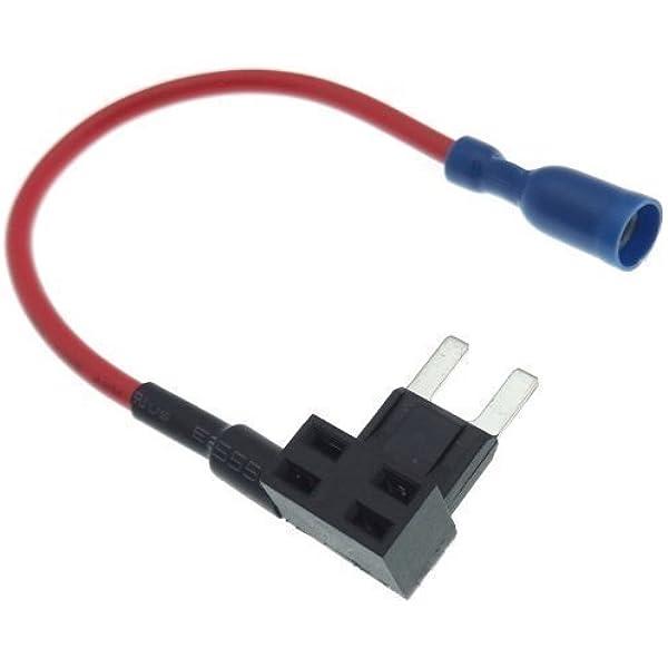 Mini Sicherung Abzweiger Stromdieb Kabel Abgriff Elektronik