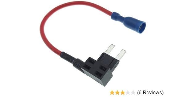 Abgriff Sicherung 10A Auto KFZ PKW LKW Strom Dieb Kabel Spannung Abzweig Adapter