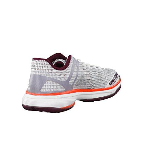 adidas Court Stabil 13 W, Chaussures de Handball Femme Blanc Cassé (Bianco Ftwbla/plamet/granat)