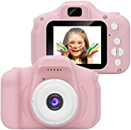 MeterMall Electronics Accessory Kids Digital Video Camera Mini Rechargeable Children Camera Shockproof 8MP HD