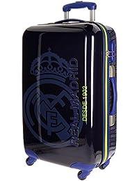 Real Madrid 1902 Equipaje Infantil, 67 cm, 53 Litros, Azul
