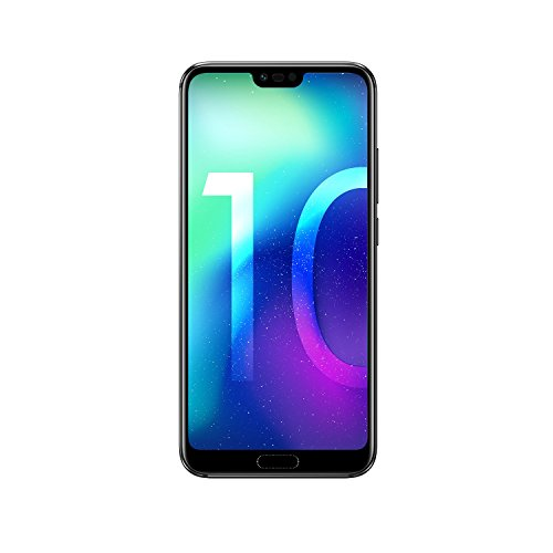 Honor 10 Smartphone (14,83 Cm (5,84 Zoll), Full Hd+ Touch-display, 64gb Interner Speicher, 4gb Ram, Schwarz - Deutsche Version