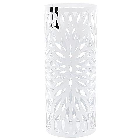 Parasols Blanc - Songmics 49 cm x Ø 19,5 cm