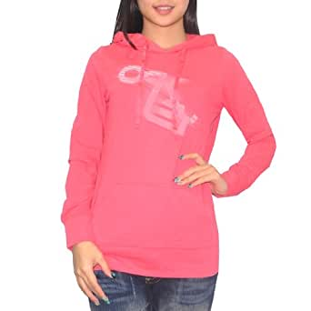 Oakley Womens Surf & Skate Pullover Hoodie X-Large Pink