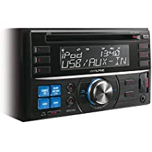 Alpine CDE-W233R - Radio para coches (200W, lector de CD/DVD, pantalla LCD), negro