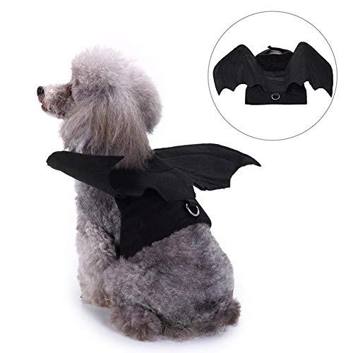 Lucky-all star Halloween-Kostüm Fledermausflügel für Hunde und Katzen