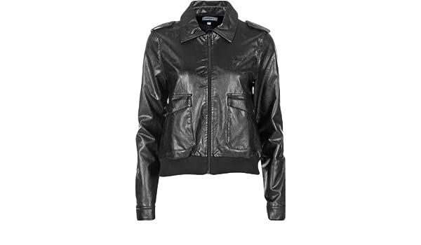 adidas Originals Veste CS F LEA Jacket Noir Femme X32381