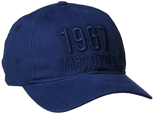 Marc O'Polo Herren Mütze 726806201006, Blau (Moonblue 873), One Size (Baseball Marc)