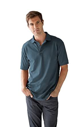 anvil Herren Poloshirt Regular Fit, Piqué 6002, Gr. 46 (S), Blau (LAK-Lake)