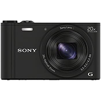 Cámara Digital compacta Sony DSCHX60 con Wi-Fi y NFC: SONY: Amazon ...