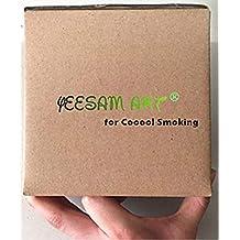 YEESAM fumar® Salud Agua fumar pipe aceite Rig Bong pipa de – tubo de tubo de botella de cristal Bong novedad regalos de filtro fumar recicladora para ...