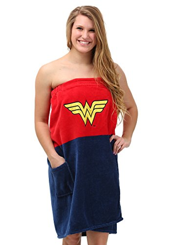 DC Comics Wonder Woman Ladies Cotton Bath Wrap Towel