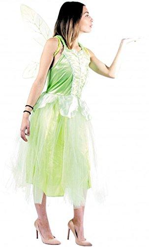 040–-Kostüm Fee, Größe M/L (Wald Märchen Kostüme)