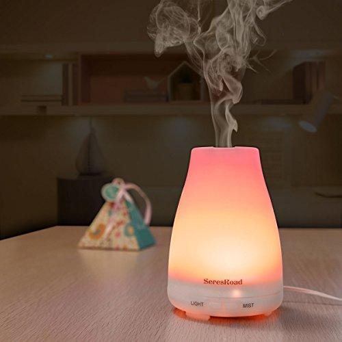 Aroma Diffuser Luftbefeuchter mit LED Farbwechsel ohne Lärm - 7