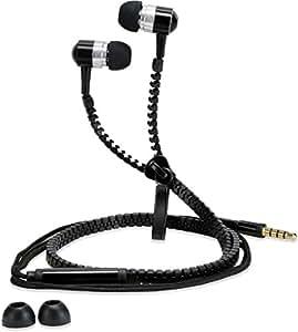 Dhhan Black zipper headphones for Panasonic P31