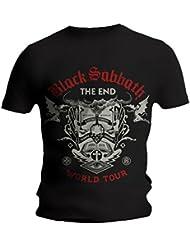 Black sabbath T-shirt Black Sabbath - The End Scripture