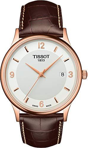 Tissot DREAM 18 KT RG- Q T914.410.46.017.00 Reloj de Pulsera para hombres