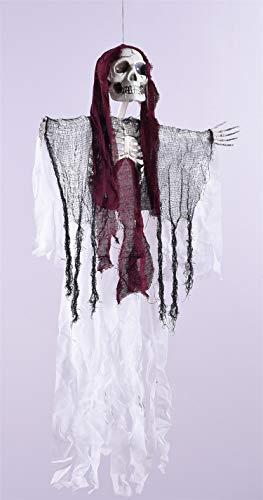 WSJDE Big Mouth Ghost Horror hängen Monster Dekoration Halloween Party hängen Toy Room Escape Evil Dolls Spukhaus Skeleton - Monster High Ghost Kostüm