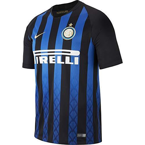 Nike M NK BRT STAD JSY SS HM Camiseta 1ª Equipación Inter de Milan, Hombre, (Black/Truly Gold), S