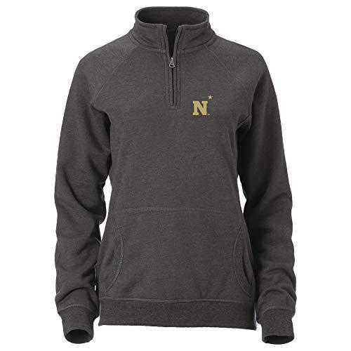 Ouray Sportswear NCAA Navy Womens W Dee-Lite 1/4 ZipW Dee-Lite 1/4 Zip, Graphite, XL -