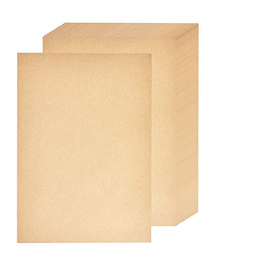 BENECREAT Papel Kraft Natural Papel Kraft 100 Hojas