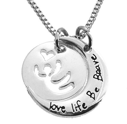 18-inch-5-8-inch-round-silvertone-inspirational-necklace-love-live-be-brave-813-by-kix-jewels