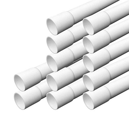 Elektrorohr M25 Stangenrohr 12 m Leerrohr PVC gemufft Installationsrohr ARLI Rohr Kanal -