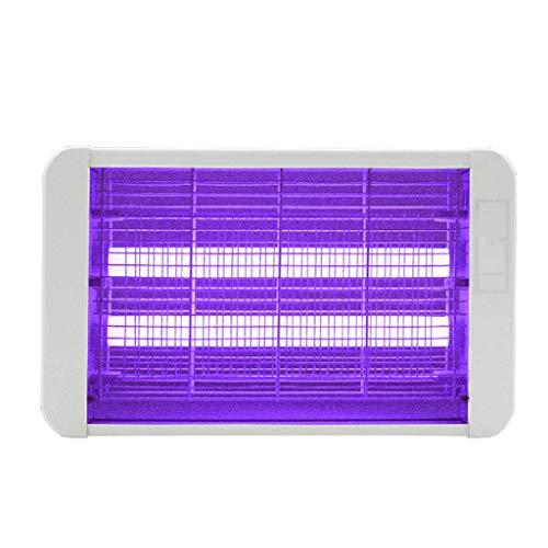 BJYG Moskito-Mörder-Lampe, 4W LED Bug Zapper, elektronisches UV-Licht Quiet \u0026 Non Toxic Fly Trap, für Küchengarten CAF \u0026 Eacute; Raum, freistehend oder Wandbehang (Quiet Bug Zapper)
