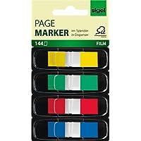 Sigel Z Marker - Marcadores para libros adhesivos reutilizables