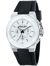 Black Dice BD 068 02 - Reloj cronógrafo de cuarzo para hombre con correa de silicona, color negro