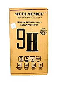 MOBI ARMOR® Premium Curved Tempered Glass Screen Protector for Asus Zenfone Max[ 2.5D Curved Edge,0.3 MM ] [ Easy Install ] [Anti Scratch ] [ HD ] [ Shock Resistance ] - Protect your screen from Scratches & Drops - Maximize your resale value - 100% clarity and touch Screen Accuracy